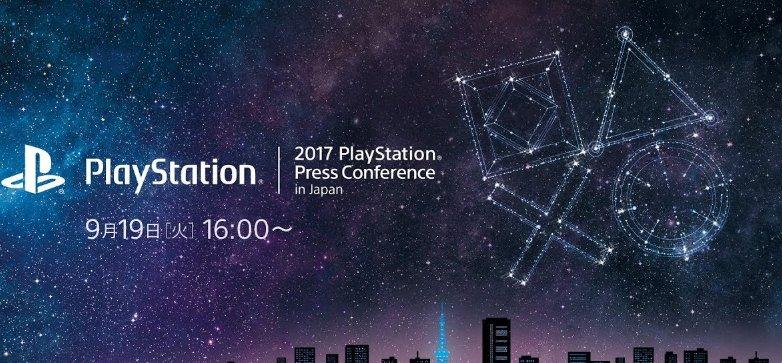2017 PlayStation Press Conference in Japan será transmitida ao vivo em 19 de setembro