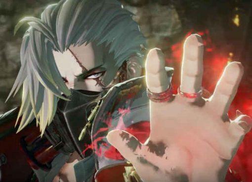 Um dos personagens vampiros de Code Vein