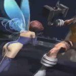 Modelos 3D de Thor e Pixie em uma demo de realidade virtual para Dx2 Shin Megami Tensei