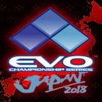 Logotipo da Evo Japan 2018.