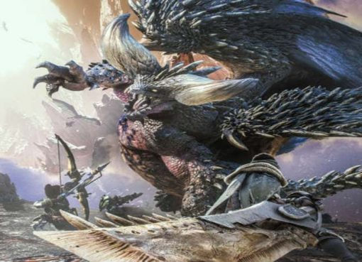 Arte de Monster Hunter World