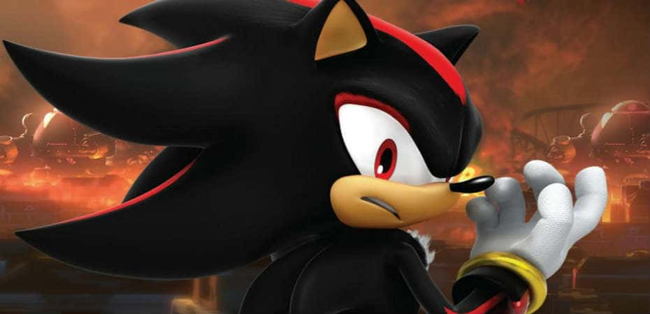 Arte de Shadow em Sonic Forces