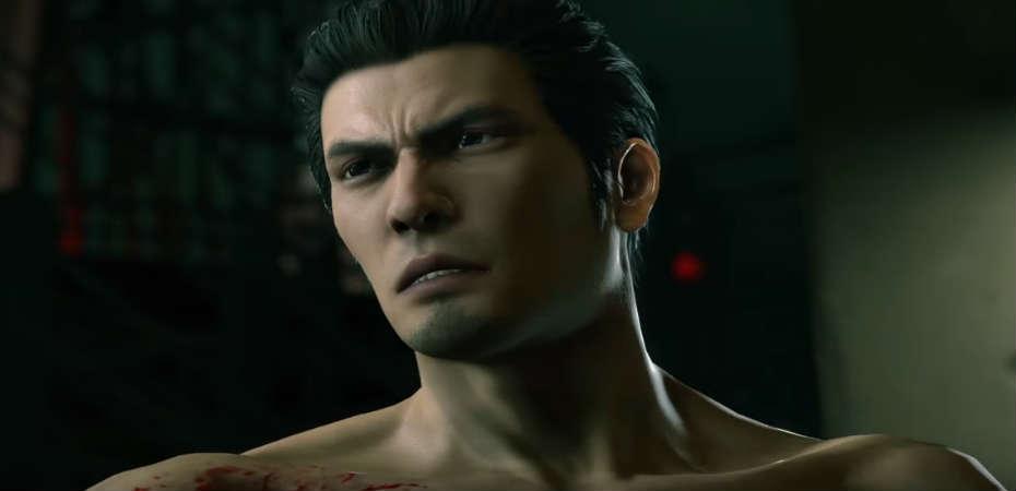 O protagonista da série Yakuza no remake Yakuza Kiwami 2