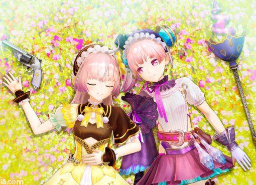 As irmãs gêmeas em Atelier Lydie & Suelle
