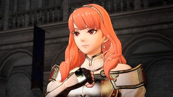 Celica, de Fire Emblem Echoes: Shadows of Valentia.