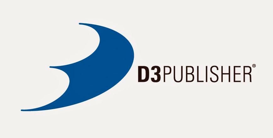 Logo da D3 Publisher que estará na Tokyo Game Show.
