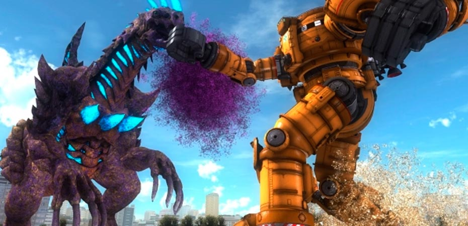 <b>#TGS2017:</b> Robôs gigantes x monstros gigantes? Esse é <i>Earth Defense Force 5</i>!