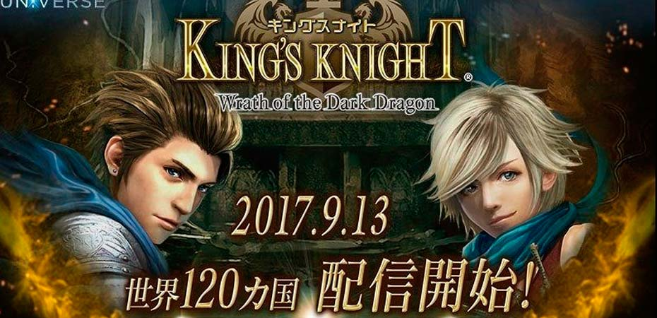 <em>King's Knight: Wrath of the Dark Dragon</em> já está disponível para celulares