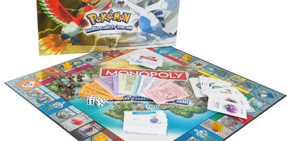 Monopoly: Pokémon Johto Edition vindo em breve!