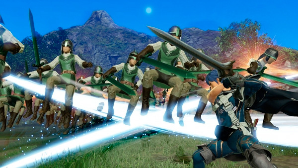 Musou Attack em Fire Emblem Warriors.
