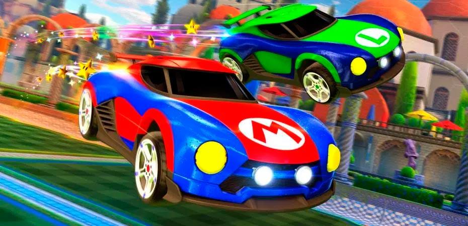 <em>Rocket League</em> para Nintendo Switch terá carros com tema de <em>Super Mario</em> e <em>Metroid</em>