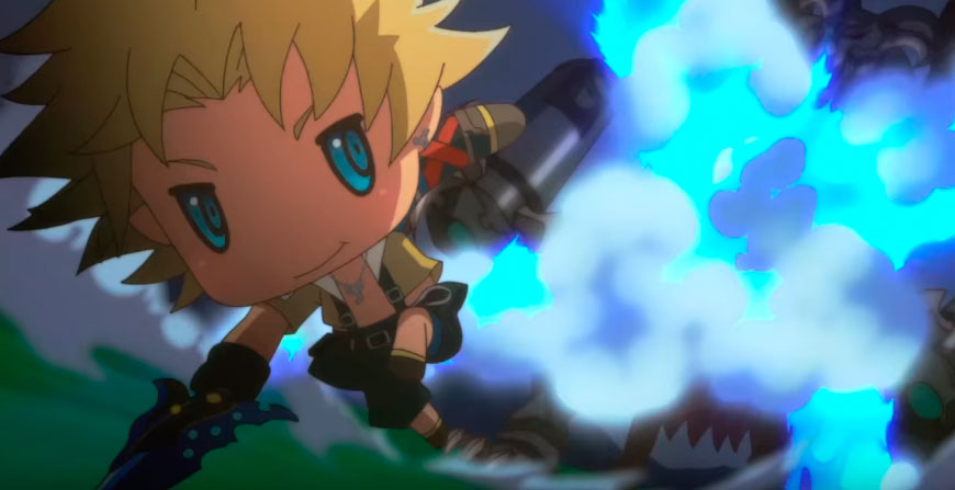 Square Enix mostra musica tema e parte da abertura de <em>World of Final Fantasy</em>