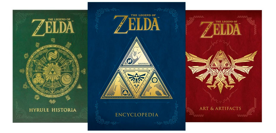 <i>The Legend of Zelda Encyclopedia</i> será lançado na América do Norte em abril