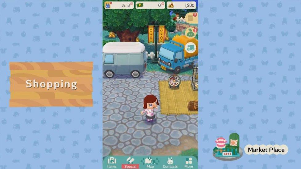 Lojas em Animal Crossing: Pocket Camp