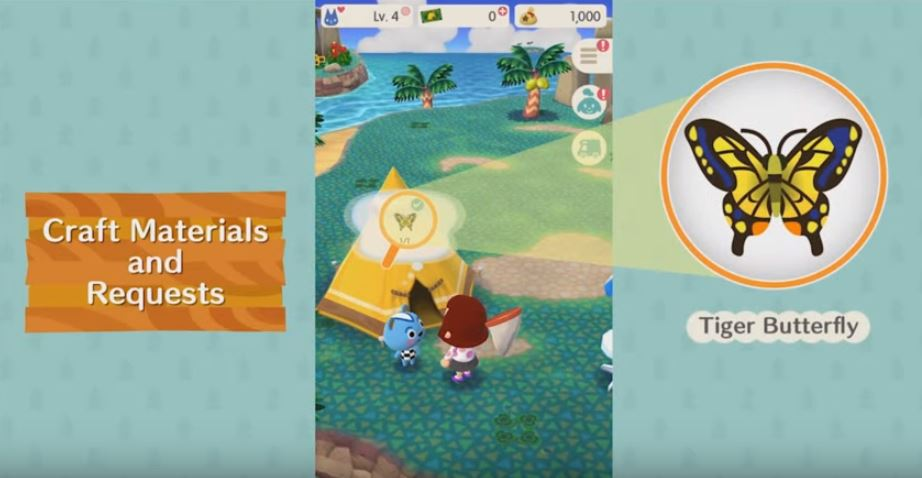 Pedidos em Animal Crossing: Pocket Camp