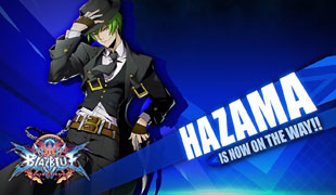 Hazama em BlazBlue Cross Tag Battle