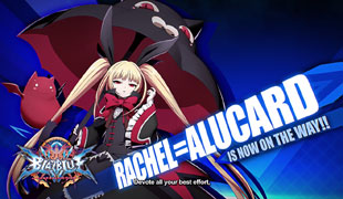 Rachel Alucard em BlazBlue Cross Tag Battle