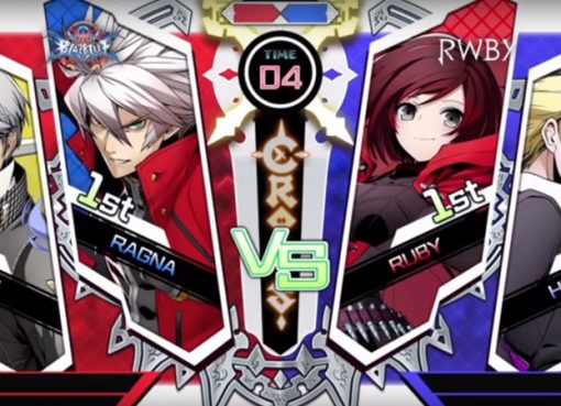 BlazBlue Cross Tag Battle - Tela antes da luta