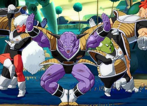 Ginyu em Dragon Ball FighterZ!
