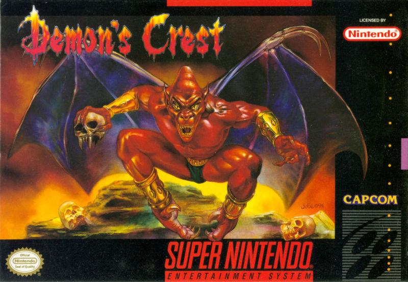 Capa do jogo Demon's Crest