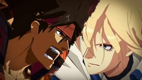 Sol e Ky do jogo Guilty Gear
