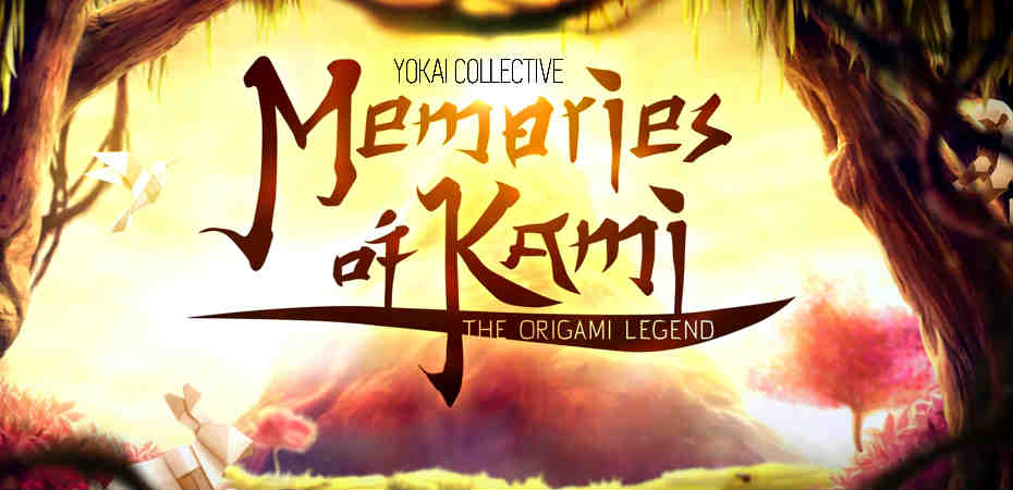 Logo do jogo Memories of Kami