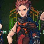 Personagens principais de Metal Max Xeno