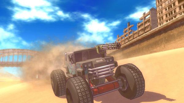 Veículo Bunker Buggy de Metal Max Xeno