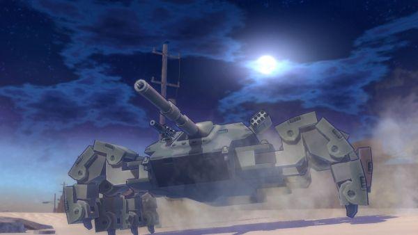 Tank de pernas múltiplas de Metal Max Xeno