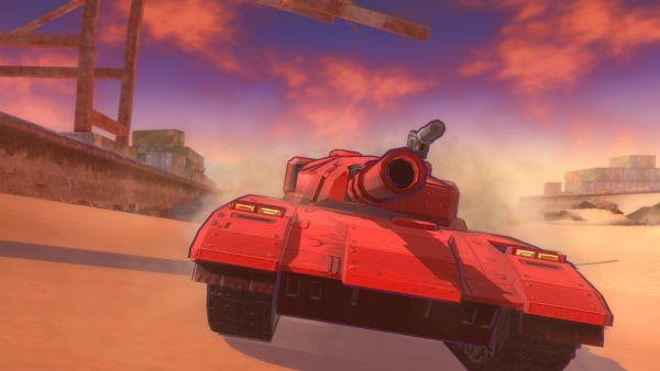 Tanque de guerra R-Wolf de Metal Max Xeno