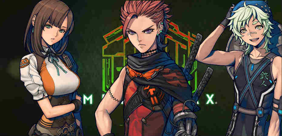 Personagens principais de Metal Max Xeno