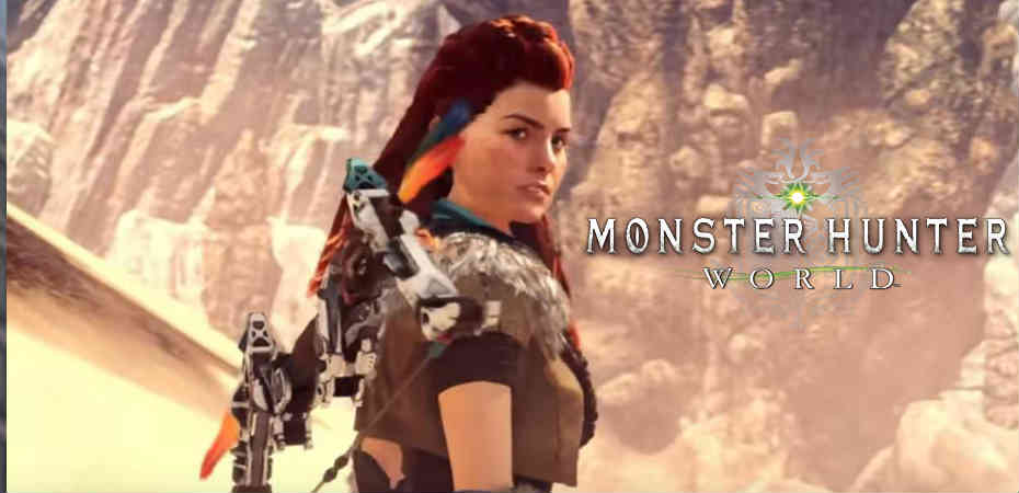 Colaboração entre Monster Hunter: World e Horizon Zero Dawn