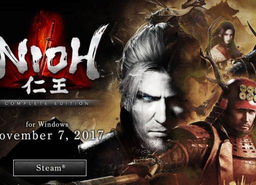 Nioh chega ao Steam em novembro!
