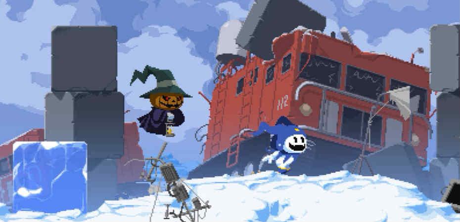 <i>Shin Megami Tensei: Synchronicity Prologue</i>, jogo de plataforma de Jack Frost e Jack O'Lantern, é lançado de graça