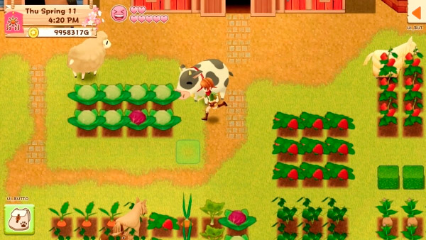 Imagem do Gameplay de Harvest Moon: Light of Hope