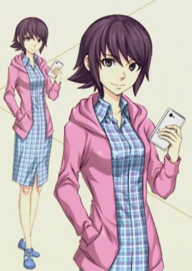 Ilustração da protagonista feminina de Dx2 Shin Megami Tensei: Liberation