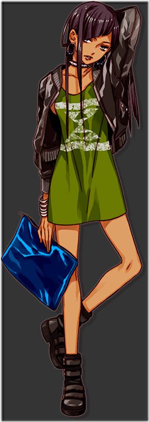 Tsukiko Aomurasaki de Style Savvy 4