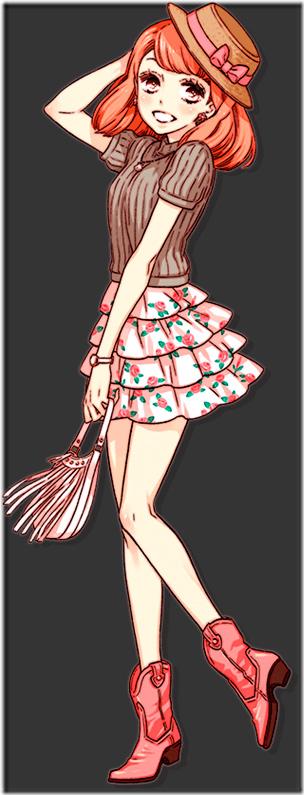 Yayoi Sakurano de Style Savvy 4