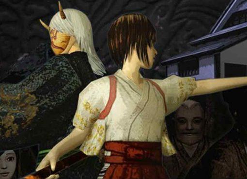 Arte do jogo indie Azumatei Kwaidan
