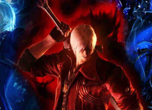 Arte para a edição especial de Devil May Cry 4