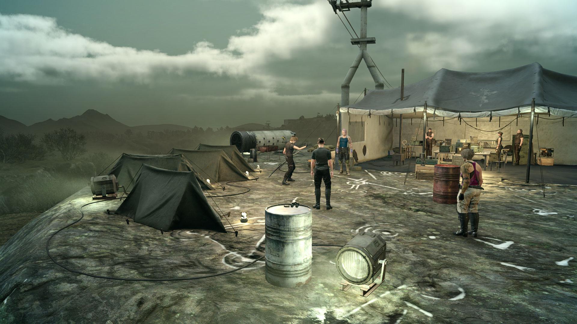 Gameplay da expansão Comrades de FFXV