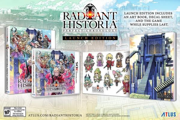 Edição de lançamento de Radiant Historia: Perfect Chronology