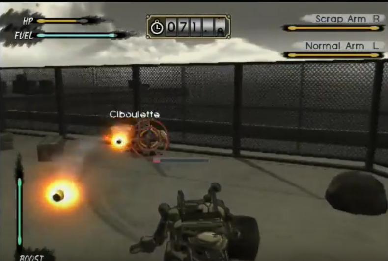 Captura de tela do tutorial de Steambot Chronicles