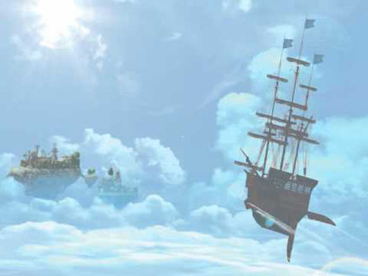O mundo de Skies of Arcadia