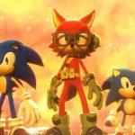 Imagem dos três protagonistas de Sonic Forces