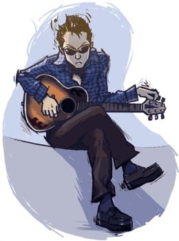Arte do personagem Fennel de Steambot Chronicles.