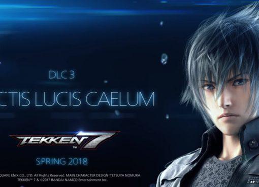 Noctis anunciado em Tekken 7!