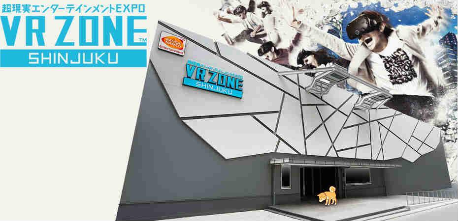 Conheça <b>VR Zone Shinjuku</b>: uma janela para o futuro da realidade virtual