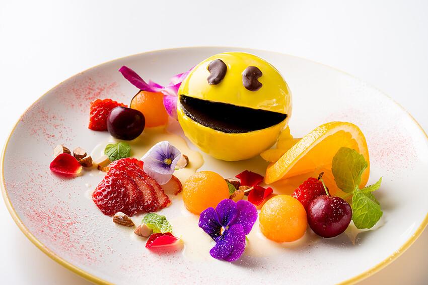 Foto de um dos pratos do menu especial do Glamper's