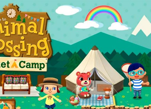Logo e personagens de Animal Crossing: Pocket Camp